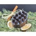 Rankų darbo natūralus masažinis muilas su kava