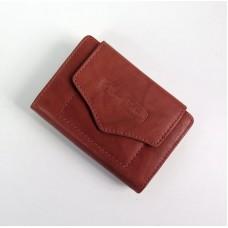 Money Maker odine moteriška piniginė šviesiai rudos spalvos