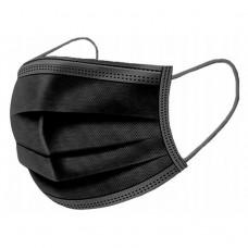 4 sluoksnių juodos kaukės (50vnt=0,14 eur)