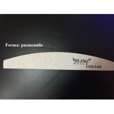 Bling nagų dildė 100/100 (25vnt 12,50€) pusmėnulis