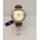 Moteriškas laikrodis Perfect rudos spalvos